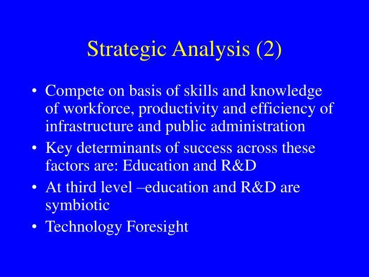 Strategic Analysis (2)