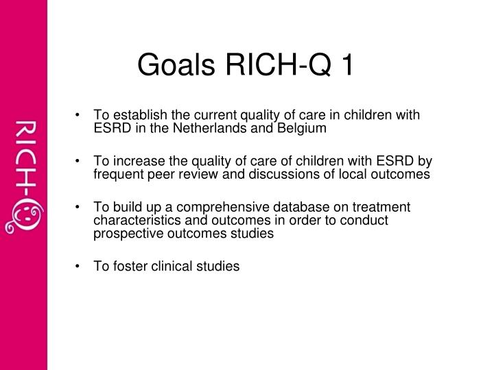 Goals rich q 1