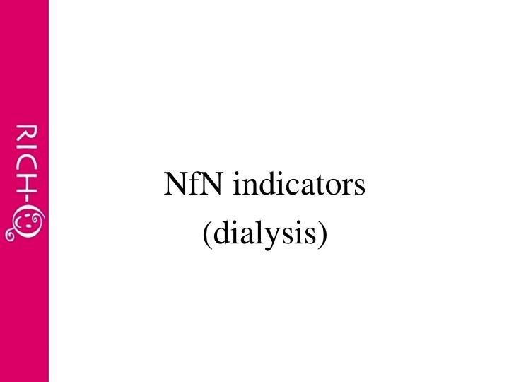 NfN indicators