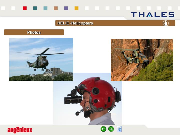 HELIE /Helicopters