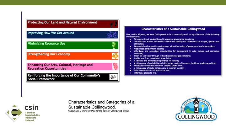 Characteristics and Categories of a