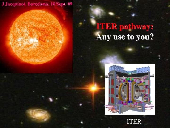 Iter pathway any use to you