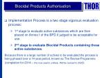 biocidal products authorisation