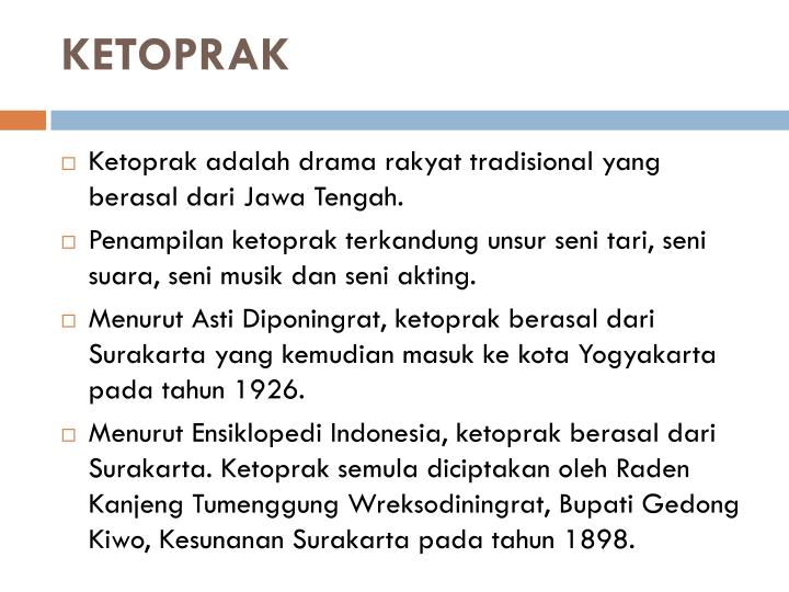 KETOPRAK