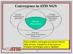 convergence in atis ngn