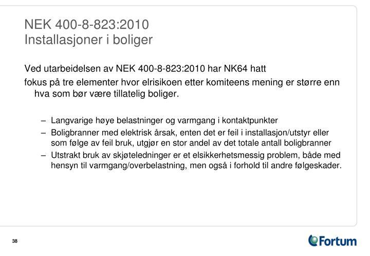 NEK 400-8-823:2010