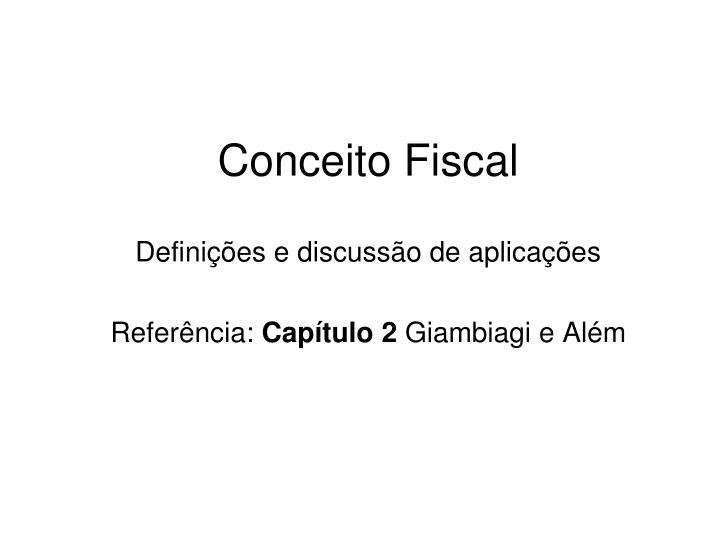 conceito fiscal
