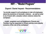 nff model program
