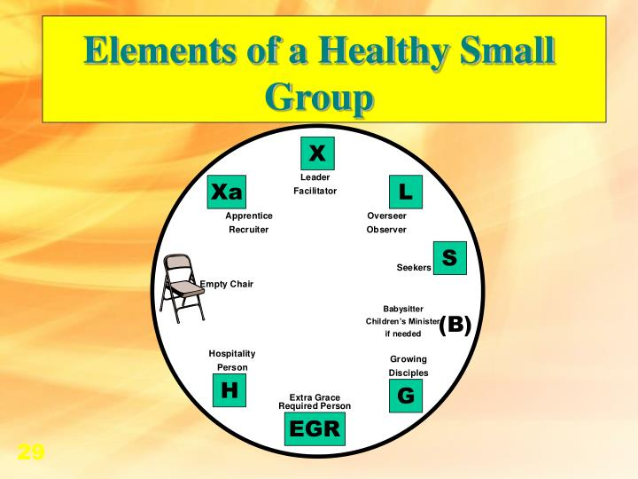 Elements of a Healthy Small Group