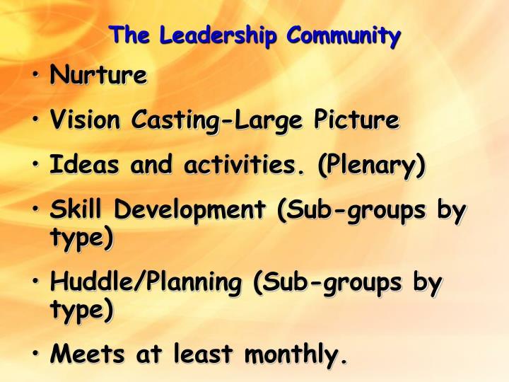 The Leadership Community