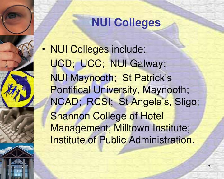 NUI Colleges
