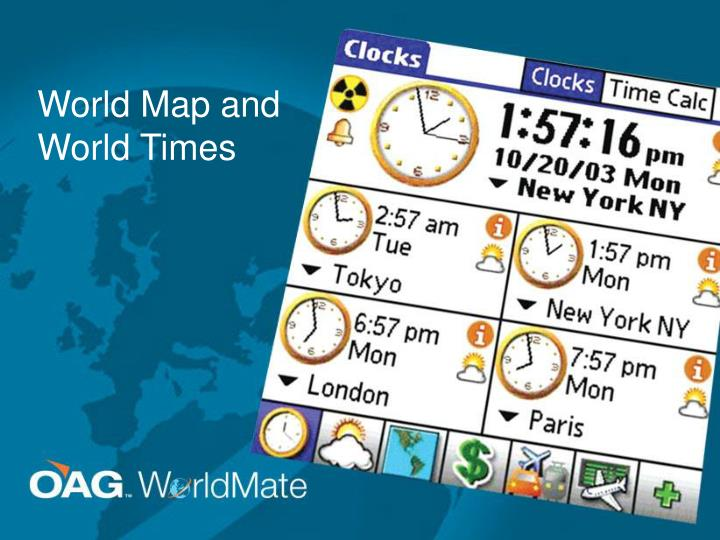 World Map and