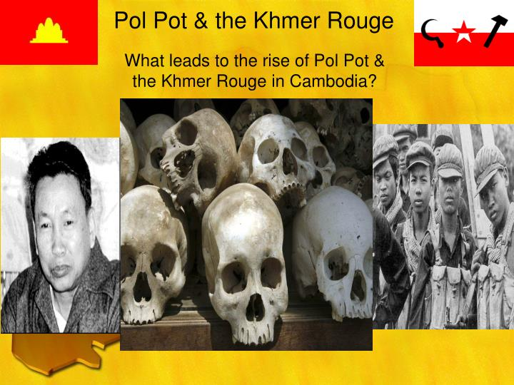 Pol pot the khmer rouge
