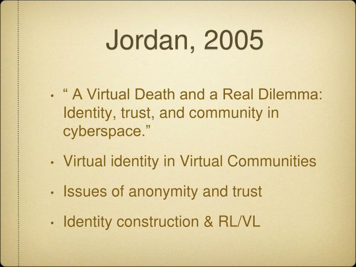 Jordan, 2005