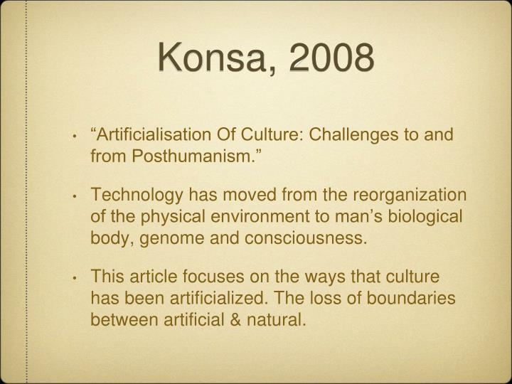 Konsa, 2008