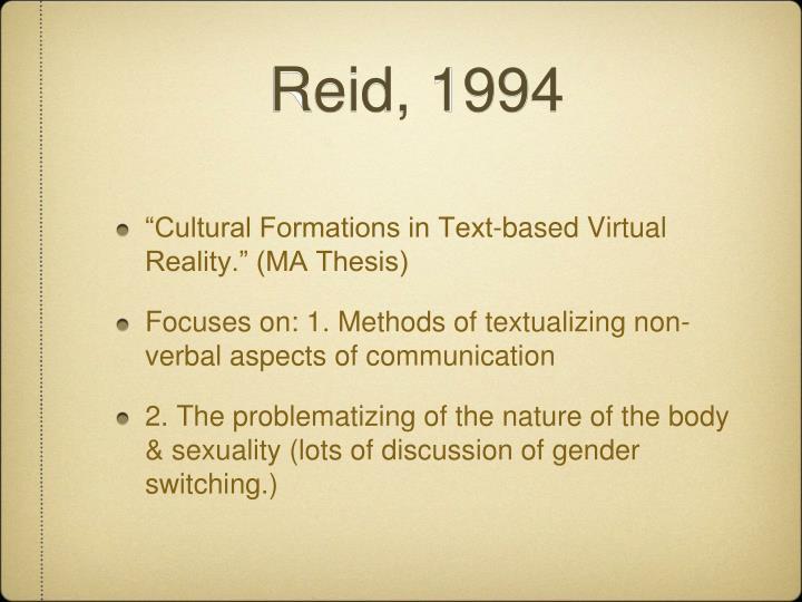 Reid, 1994