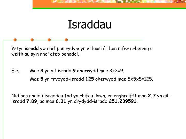 Israddau