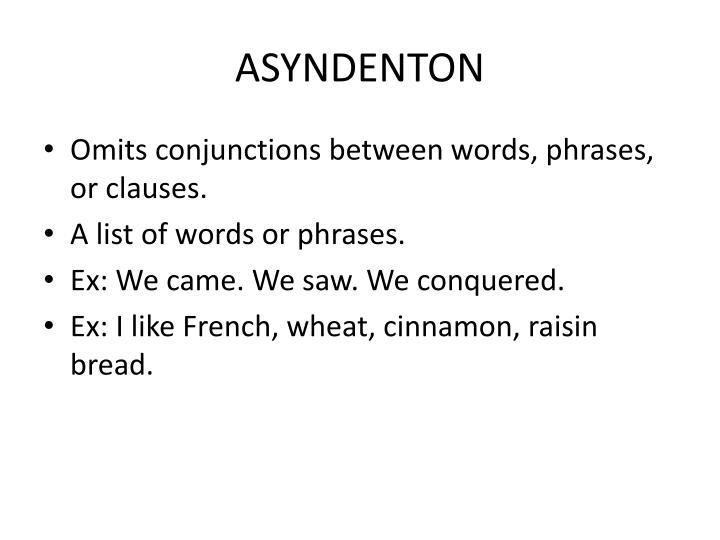 ASYNDENTON