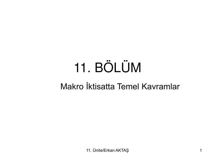 11 b l m