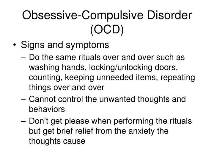 Obsessive compulsive disorder ocd1
