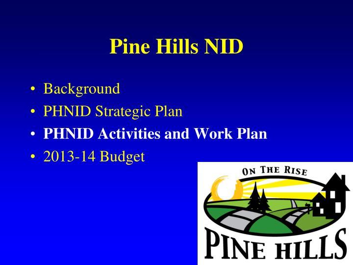 Pine Hills NID