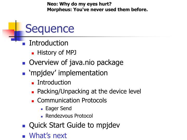 Neo: Why do my eyes hurt?