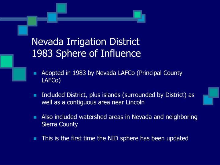 Nevada Irrigation District