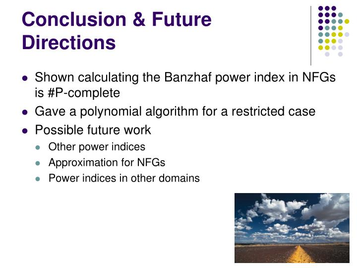 Conclusion & Future Directions