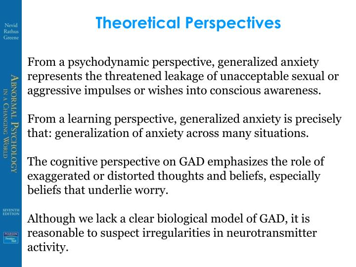 Theoretical Perspectives