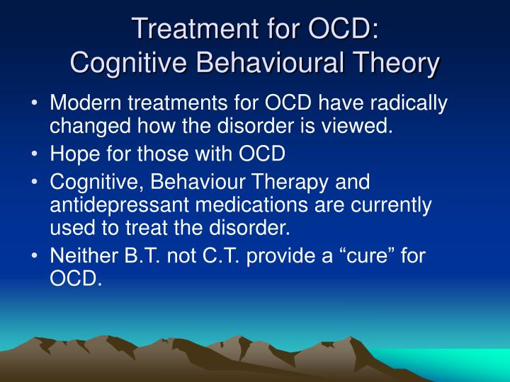 Treatment for OCD: