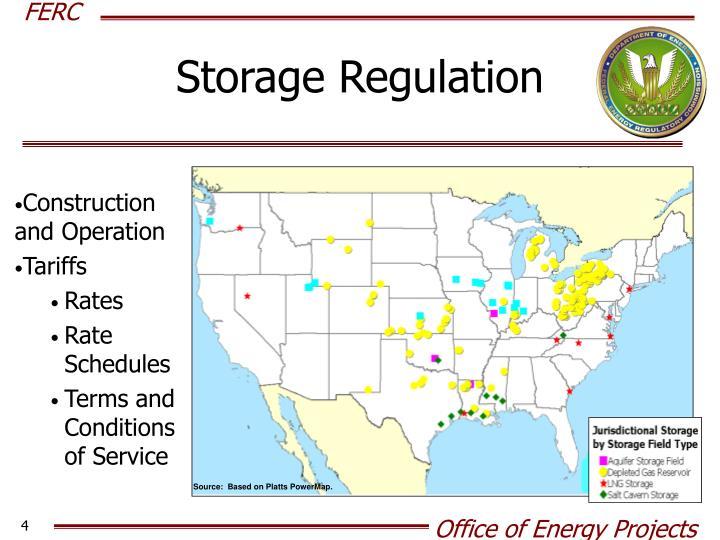 Storage Regulation