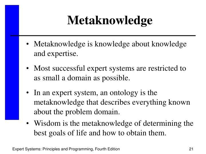 Metaknowledge