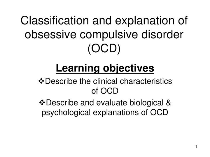 outline and evaluate issues surrounding the classification and diagnosis of depression In order to be diagnosed with an anxiety disorder, the dsm criteria require that symptoms must cause a person significant distress or impairment the dsm establishes a symptom criteria set for each disorder from this symptom set a certain number of symptoms must be met for diagnosis.