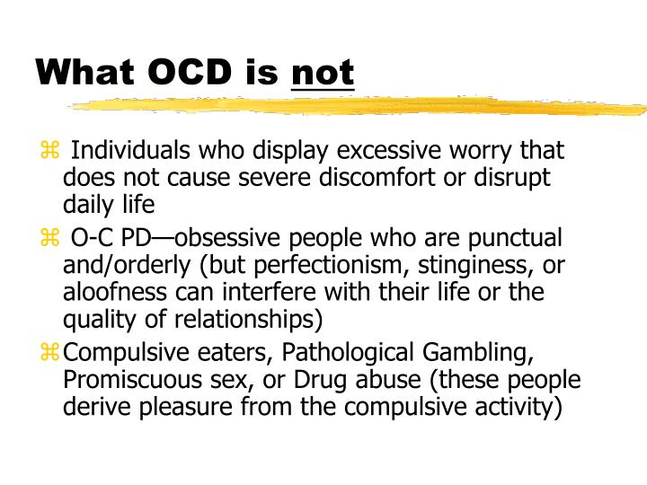 What OCD is