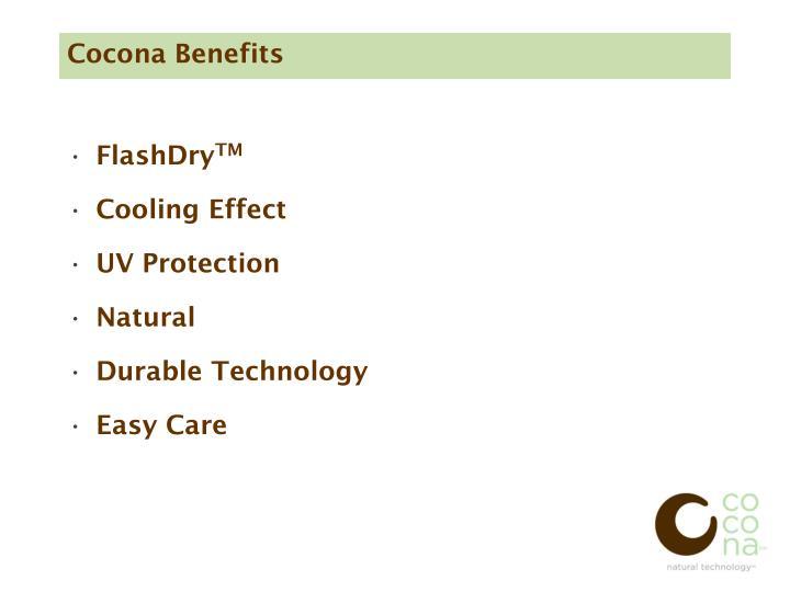 Cocona Benefits