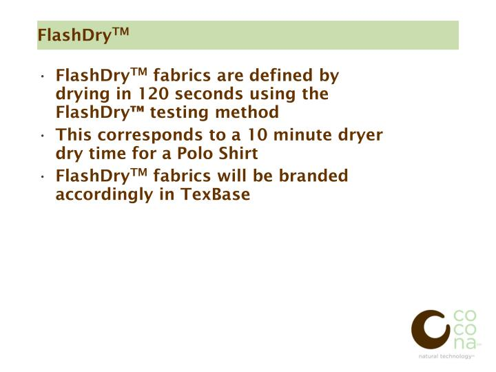 FlashDry
