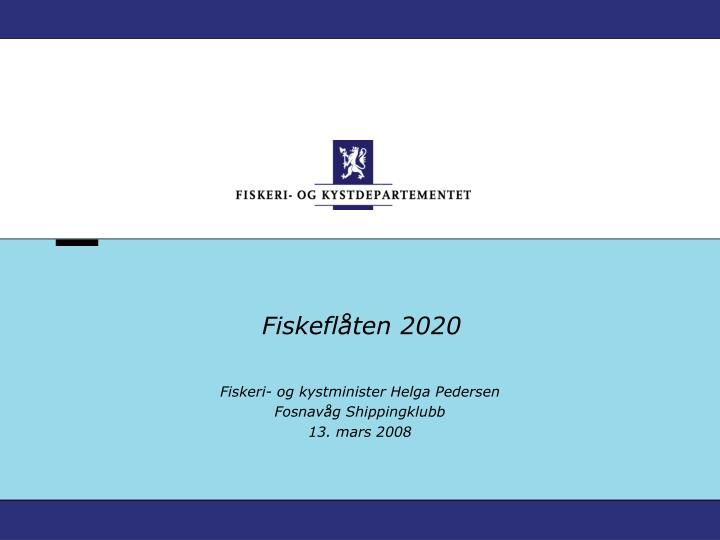 fiskefl ten 2020 n.