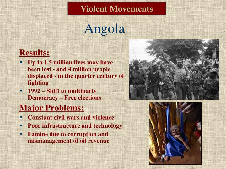 Violent Movements