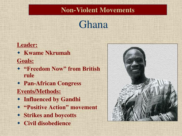 Non-Violent Movements