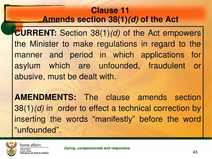 Clause 11