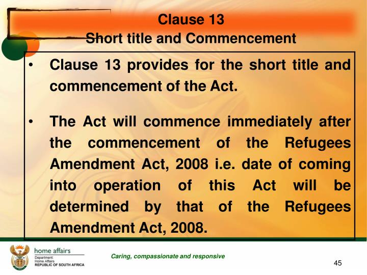 Clause 13