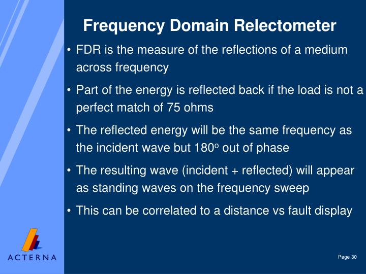 Frequency Domain Relectometer