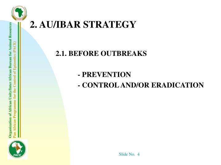 2. AU/IBAR STRATEGY