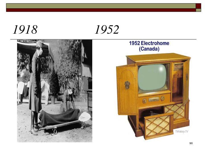 1918 1952