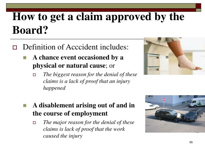 Definition of Acccident includes: