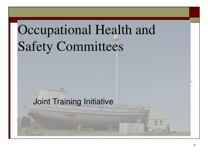 occupational health and safety committees n.