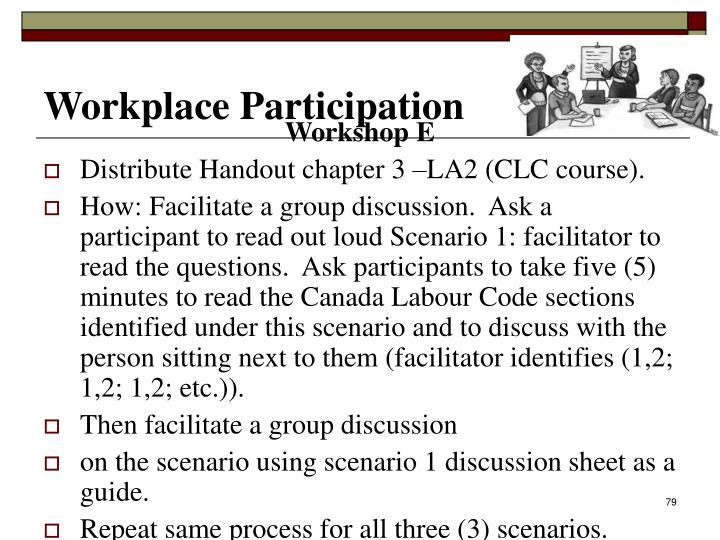 Workplace Participation