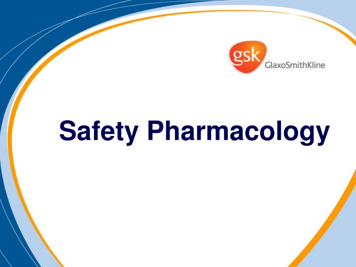 safety pharmacology n.