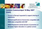 london communiqu 18 may 2007 cont