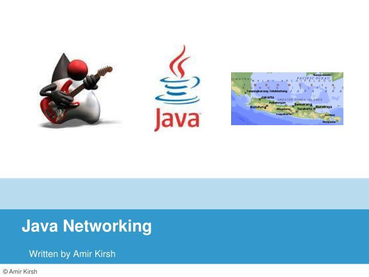 java networking n.